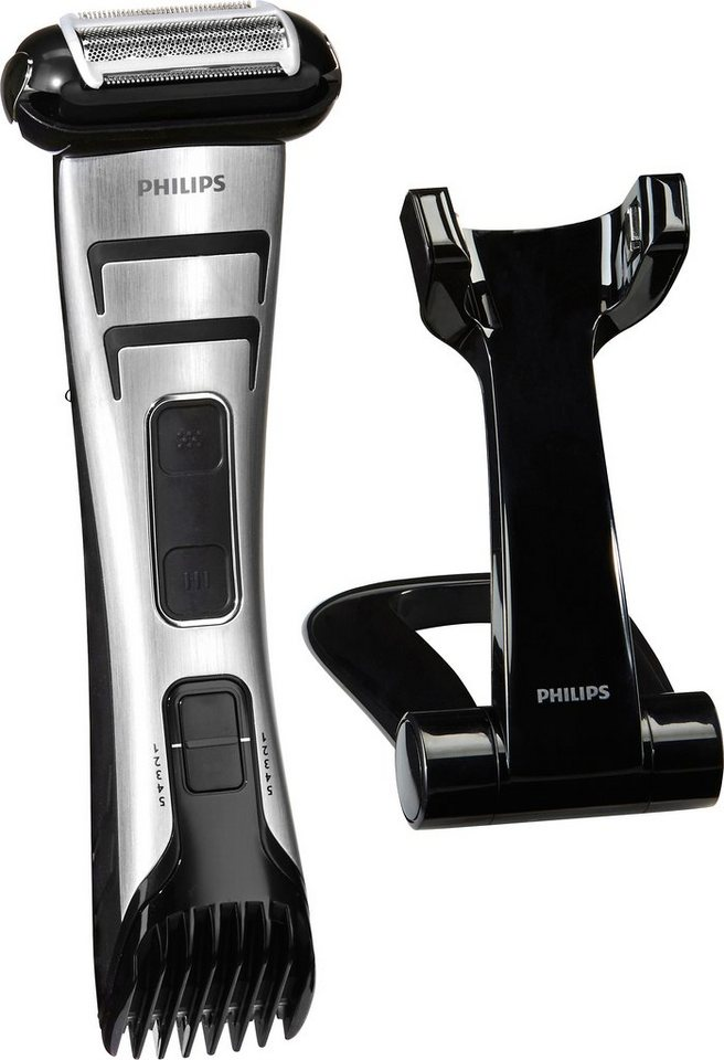 Philips Bodygroom TT2040/32 Bodygroom Pro, Akku in schwarz/silber