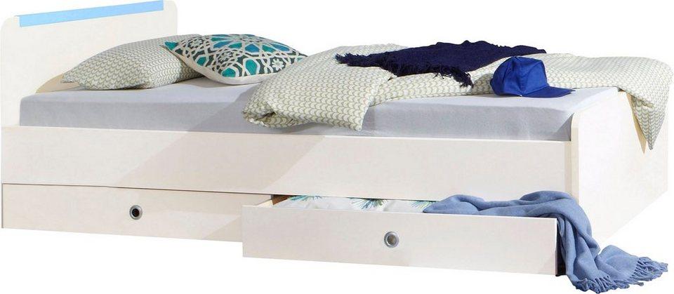 Wimex Bett in weiß/blau