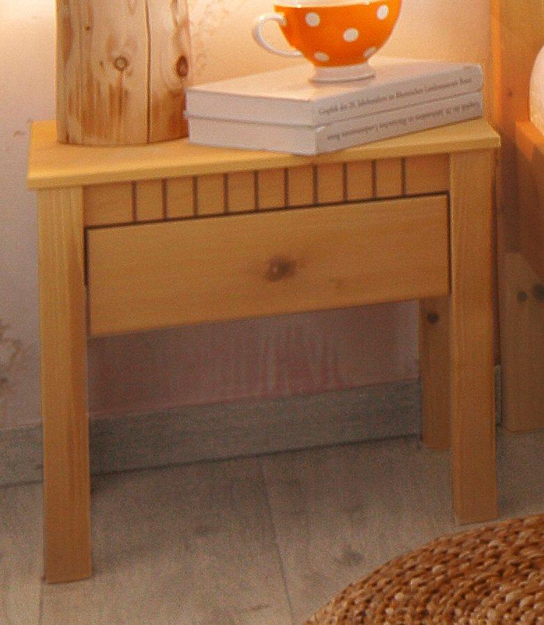 nachttisch home affaire breite 50 cm valencia otto. Black Bedroom Furniture Sets. Home Design Ideas