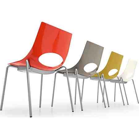 Möbel: Stühle: Stapelstühle