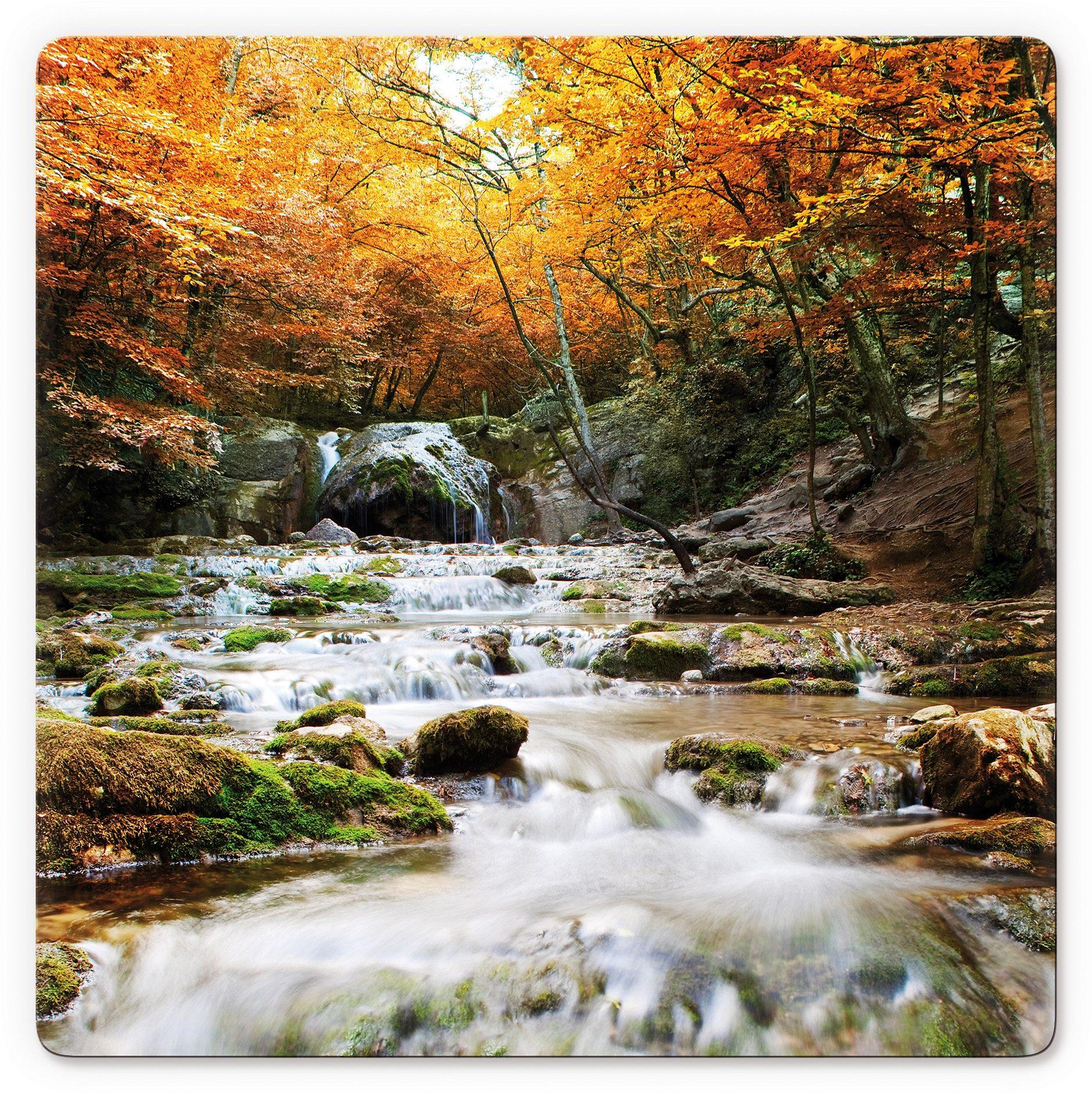 Home affaire, Glasbild, »Autumn Waterfall«, 50/50 cm