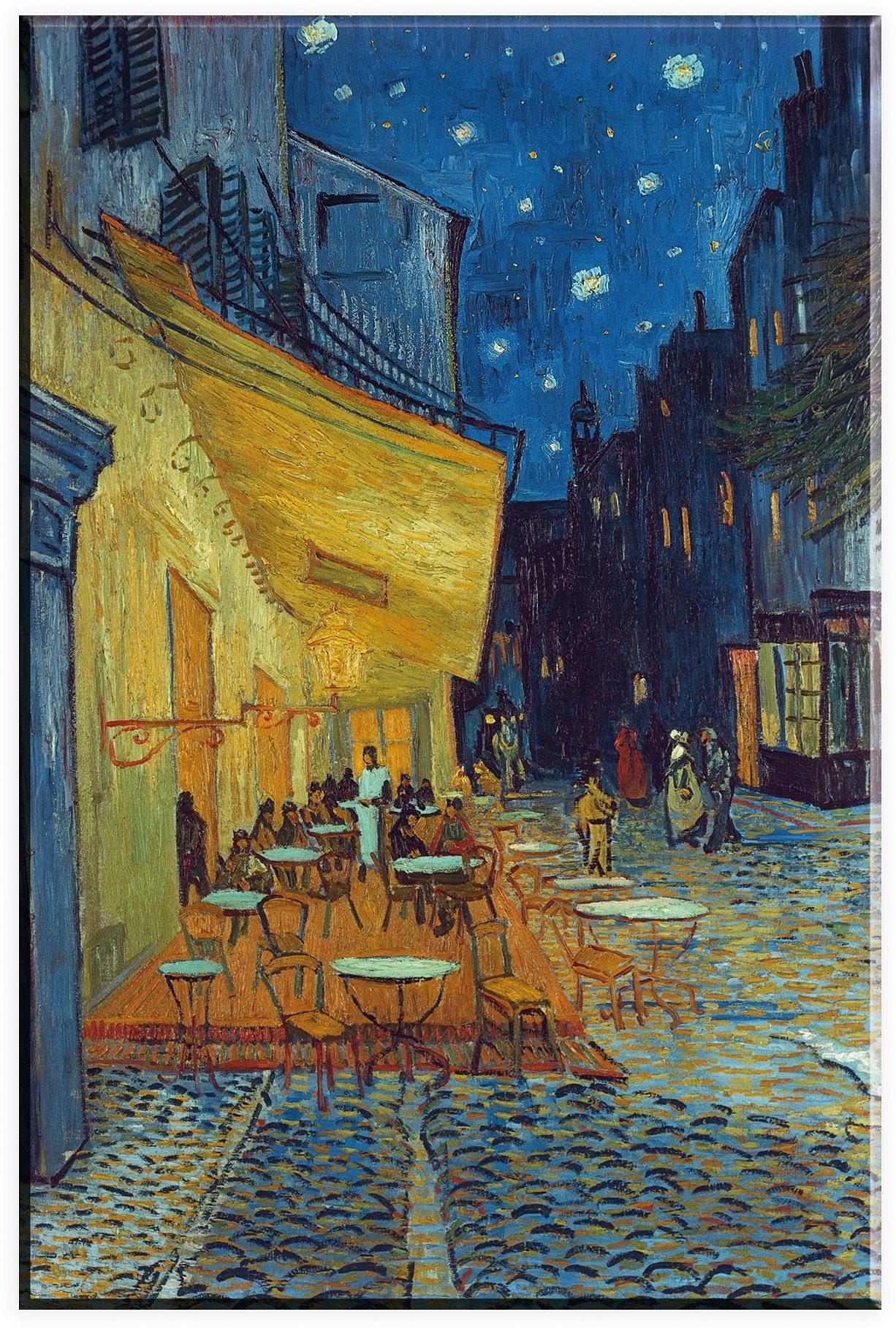Premium collection by Home affaire Leinwandbild »Van Gogh, Cafe-Terrassen«, in 2 Größen