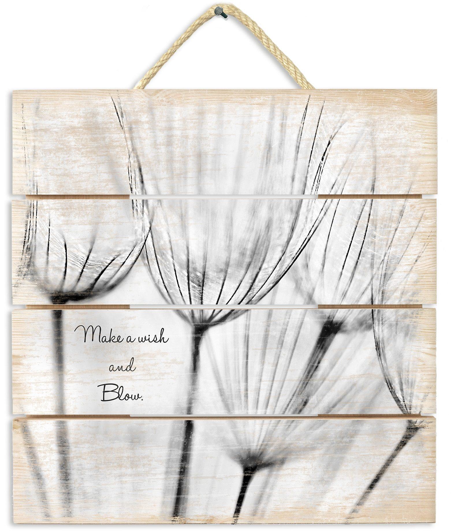 Holzbild, Home affaire, »Make a wish«, 40x41,5 cm