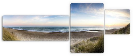 Premium collection by Home affaire Glasbild »Strandpanorama«, 3-tlg.
