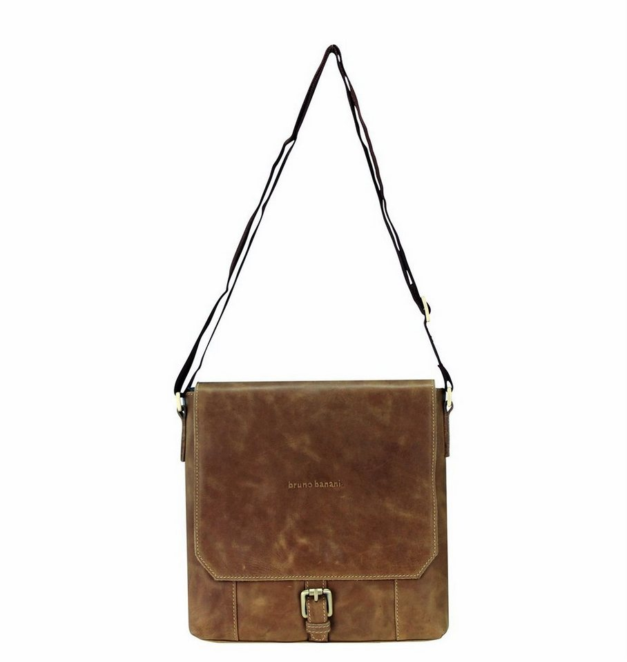 Bruno Banani Quietness Umhängetasche Leder 25 cm in brown