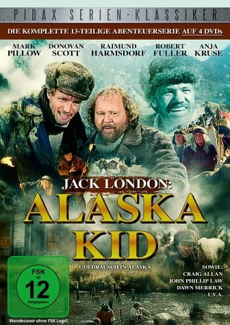 DVD »Jack London: Alaska Kid (4 Discs)«