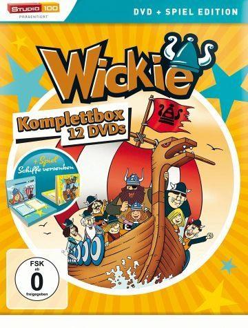 DVD »Wickie und die starken Männer - Komplettbox...«