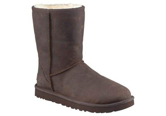 UGG Classic Short Leather Stiefel
