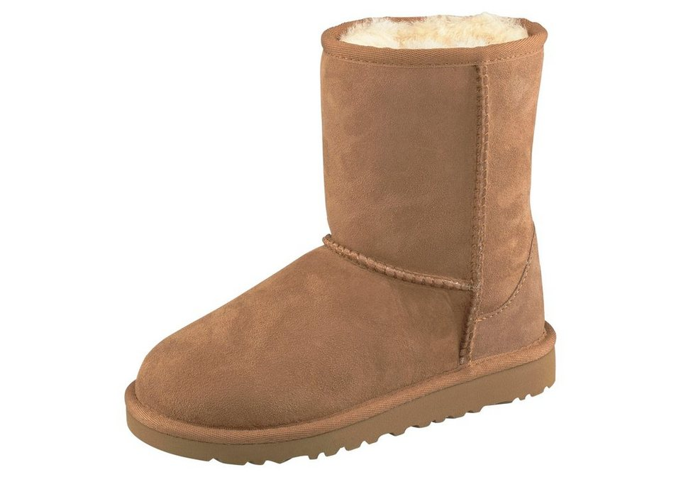 UGG »Classic Short Kids« Stiefel in chestnut