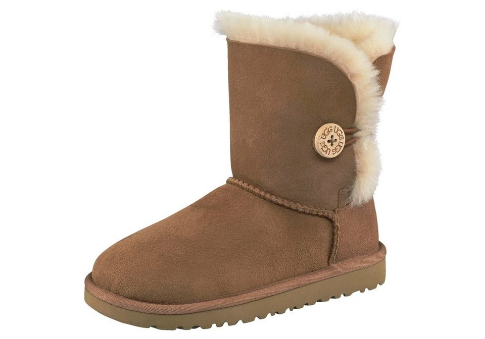 ugg bailey button kids stiefel mit dekorativem knopf online kaufen otto. Black Bedroom Furniture Sets. Home Design Ideas
