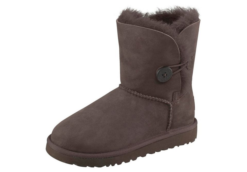 UGG Stiefel »Bailey Button Kids« in braun