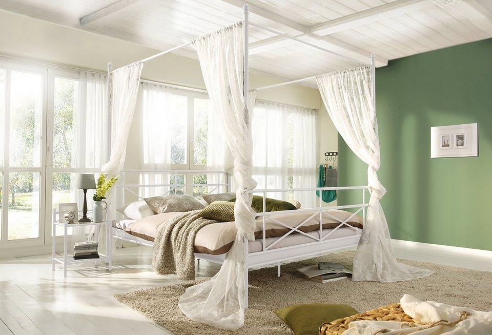 Himmelbett weiß romantisch  Metall-Himmelbett, Home affaire, »Thora« kaufen | OTTO