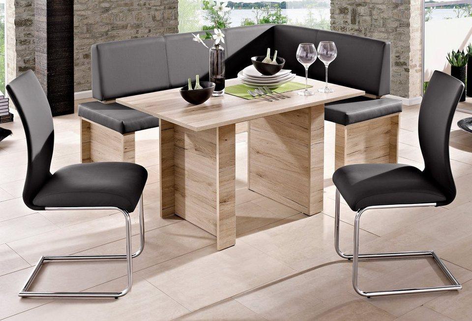 steinhoff eckbankgruppe 4 tlg online kaufen otto. Black Bedroom Furniture Sets. Home Design Ideas