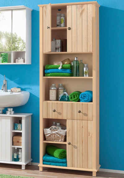 Bad hochschrank holz  Bad-Hochschrank » Badezimmer Hochschrank schmal & breit | OTTO