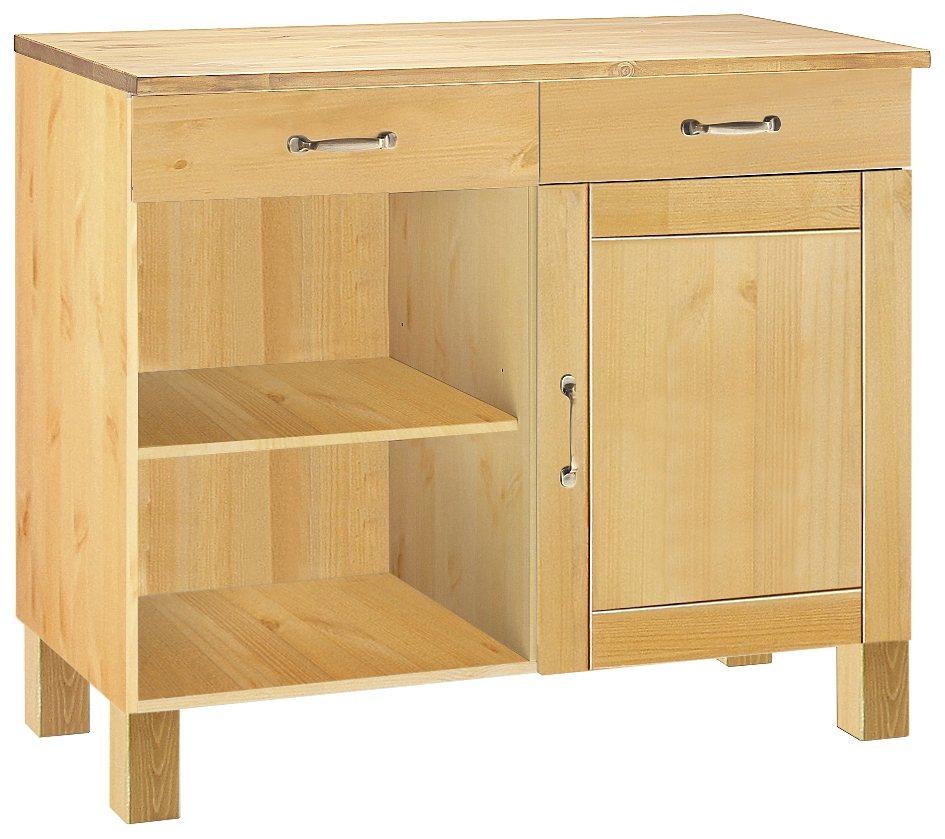 unterschrank alby breite 100 cm 1 t r 2 schubk sten 2 f cher online kaufen otto. Black Bedroom Furniture Sets. Home Design Ideas