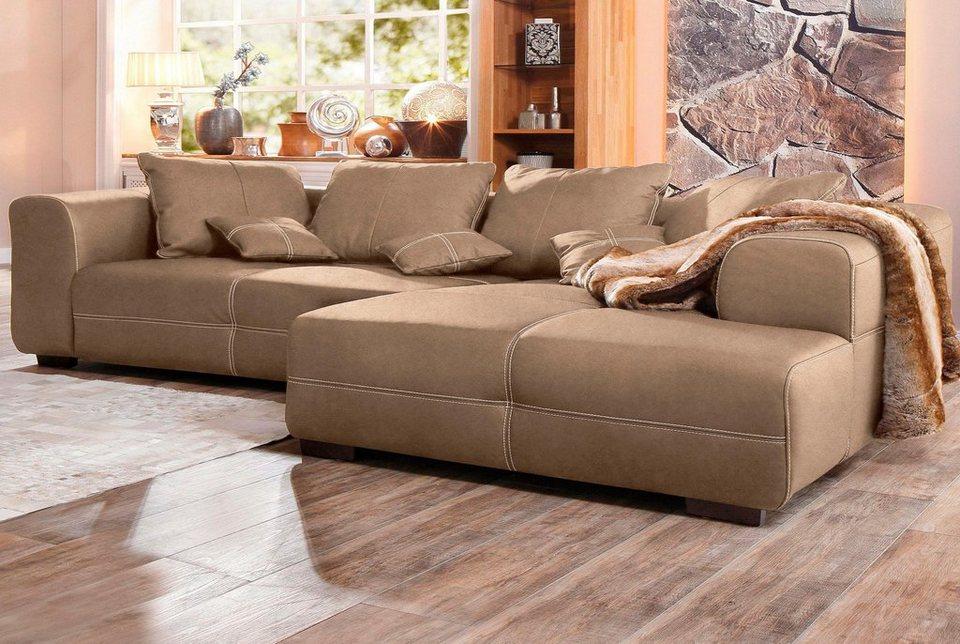 premium collection by home affaire polsterecke maverick online kaufen otto. Black Bedroom Furniture Sets. Home Design Ideas