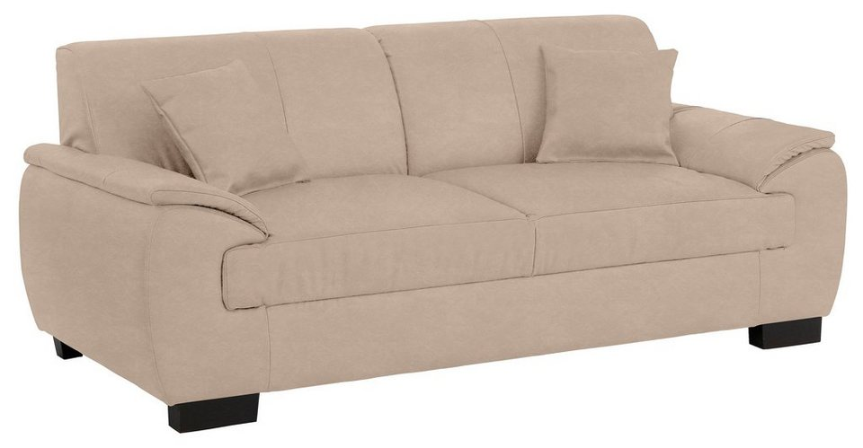 Premium collection by Home affaire 2-Sitzer »Loft«, mit Boxspringfederung in natur