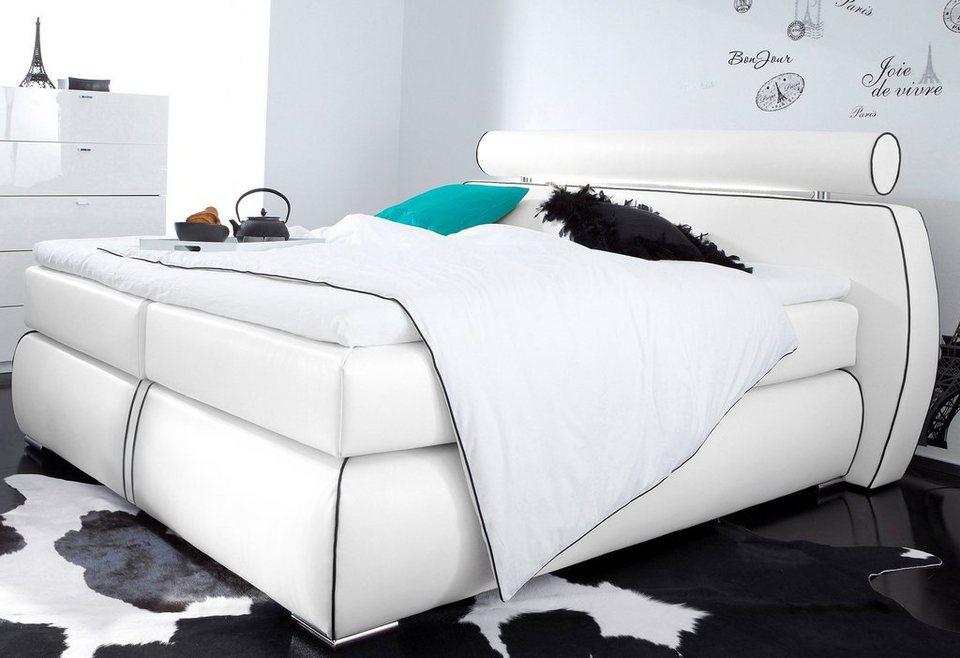 boxspringbett inosign online kaufen otto. Black Bedroom Furniture Sets. Home Design Ideas
