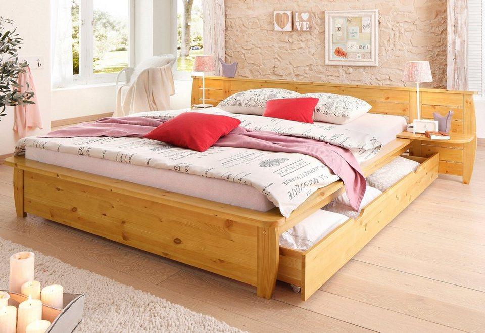 bett home affaire acora bettschubladen optional separat zu bestellen online kaufen otto. Black Bedroom Furniture Sets. Home Design Ideas