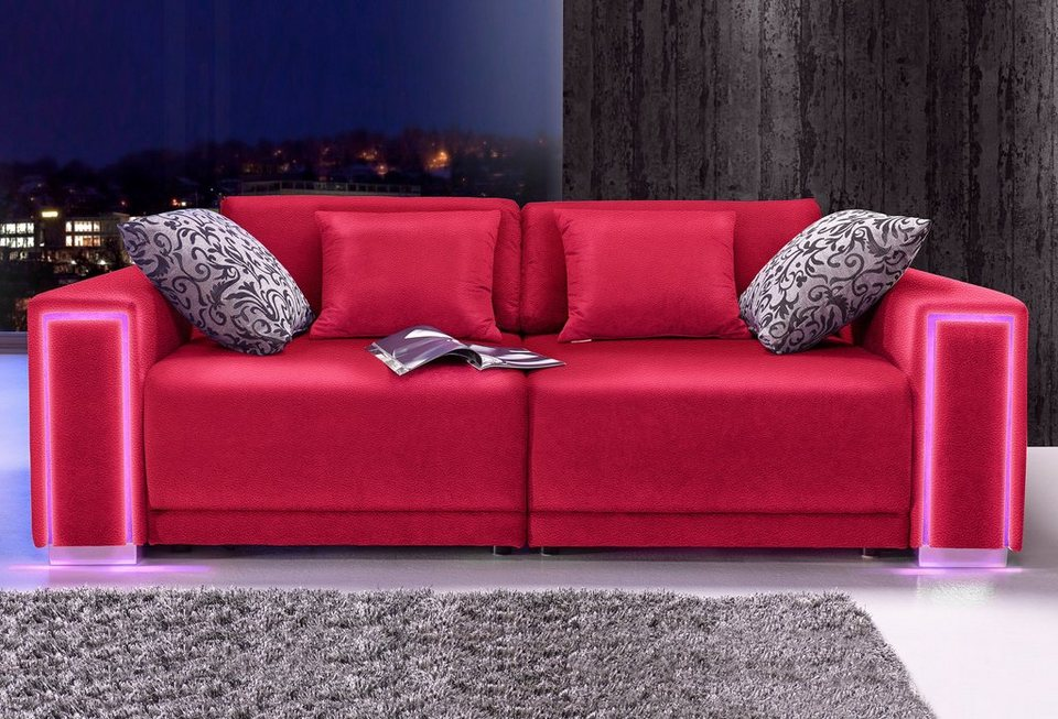big sofa rot beautiful sofa leder sofa kolonial leder. Black Bedroom Furniture Sets. Home Design Ideas