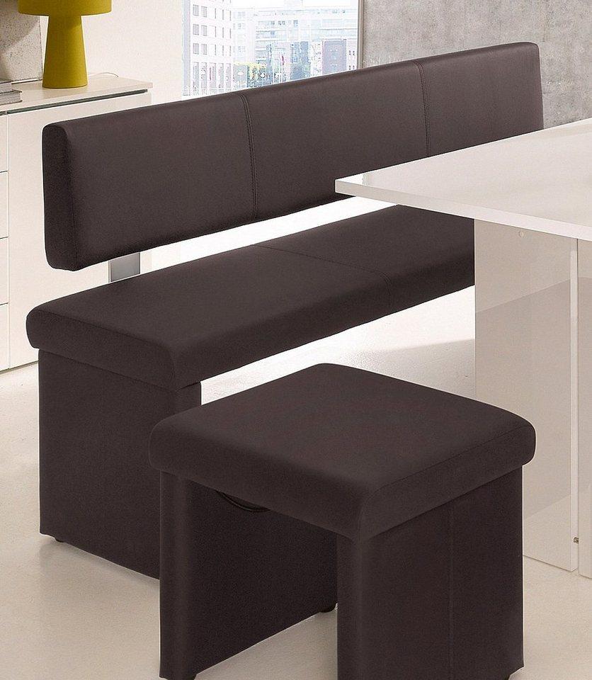 sitzbank leder r ckenlehne braun preisvergleiche erfahrungsberichte und kauf bei nextag. Black Bedroom Furniture Sets. Home Design Ideas