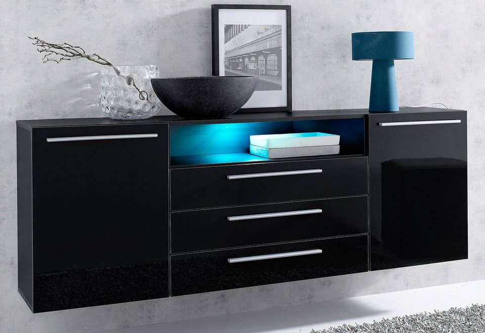 sideboard breite 169 cm online kaufen otto. Black Bedroom Furniture Sets. Home Design Ideas