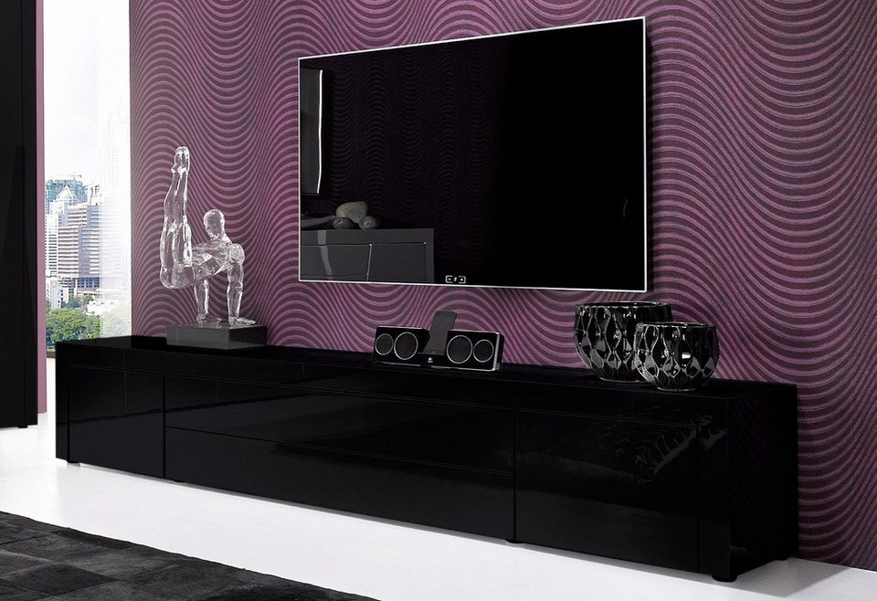 tv lowboard breite 200 cm online kaufen otto. Black Bedroom Furniture Sets. Home Design Ideas