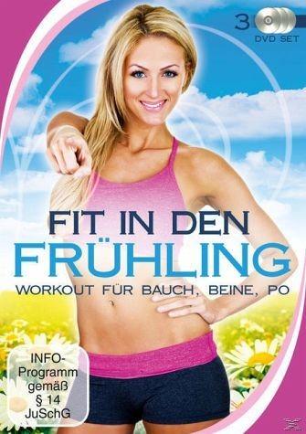 DVD »Fit in den Frühling - Workout für Bauch,...«