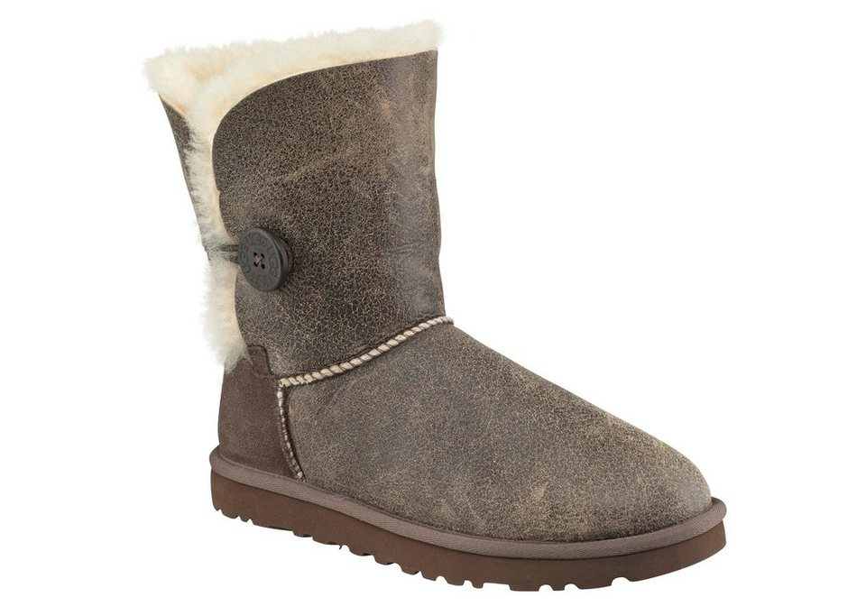 UGG »Bailey Button Bomber« Stiefel in natur