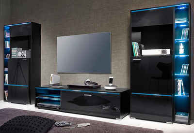 85 wohnzimmerschrank online beleuchtung fur. Black Bedroom Furniture Sets. Home Design Ideas