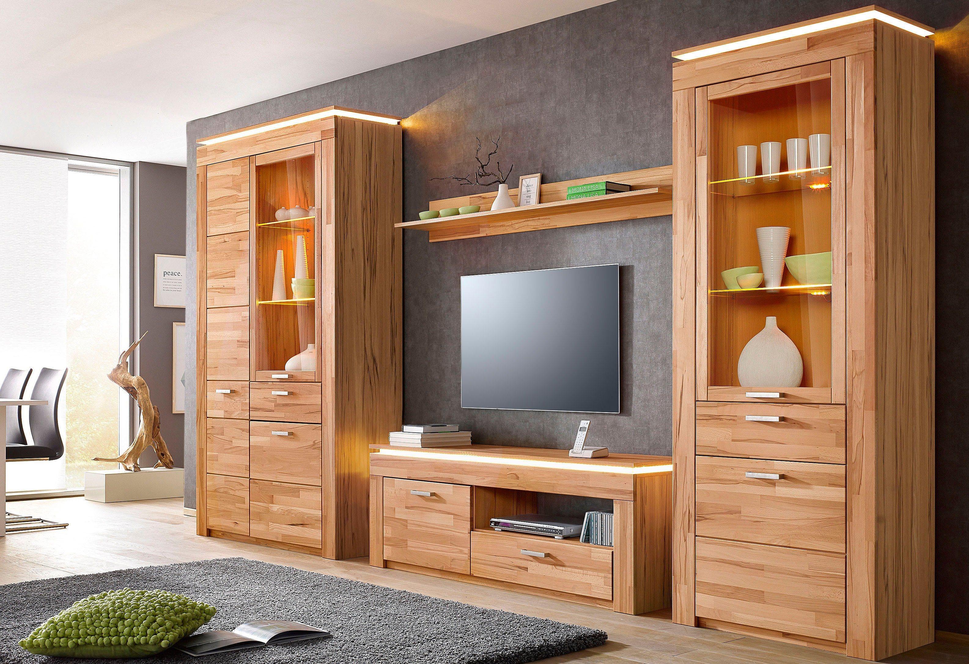 buche melamin wohnw nde online kaufen m bel suchmaschine. Black Bedroom Furniture Sets. Home Design Ideas