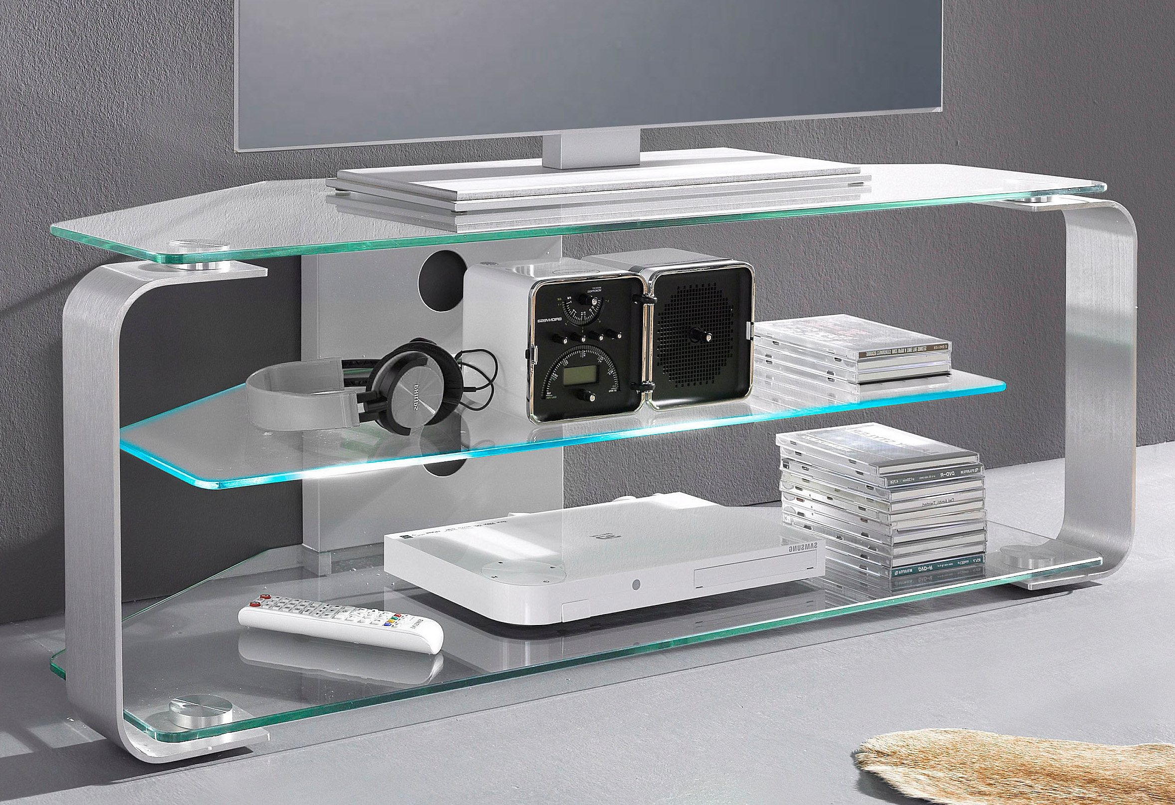 tv regal sicherheitsglas preisvergleich die besten angebote online kaufen. Black Bedroom Furniture Sets. Home Design Ideas