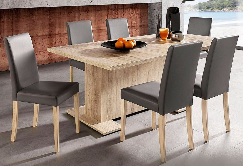 San Remo Eiche Hell Tisch : Esstisch online kaufen  OTTO