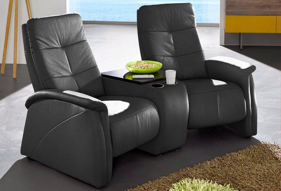 2 sitzer city sofa mit relaxfunktion integrierter. Black Bedroom Furniture Sets. Home Design Ideas