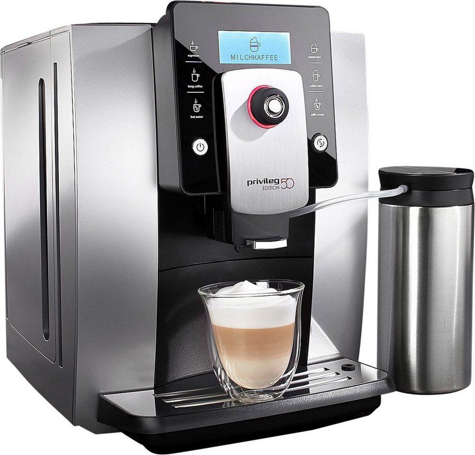 privileg kaffeevollautomat edition 50 19bar separater. Black Bedroom Furniture Sets. Home Design Ideas