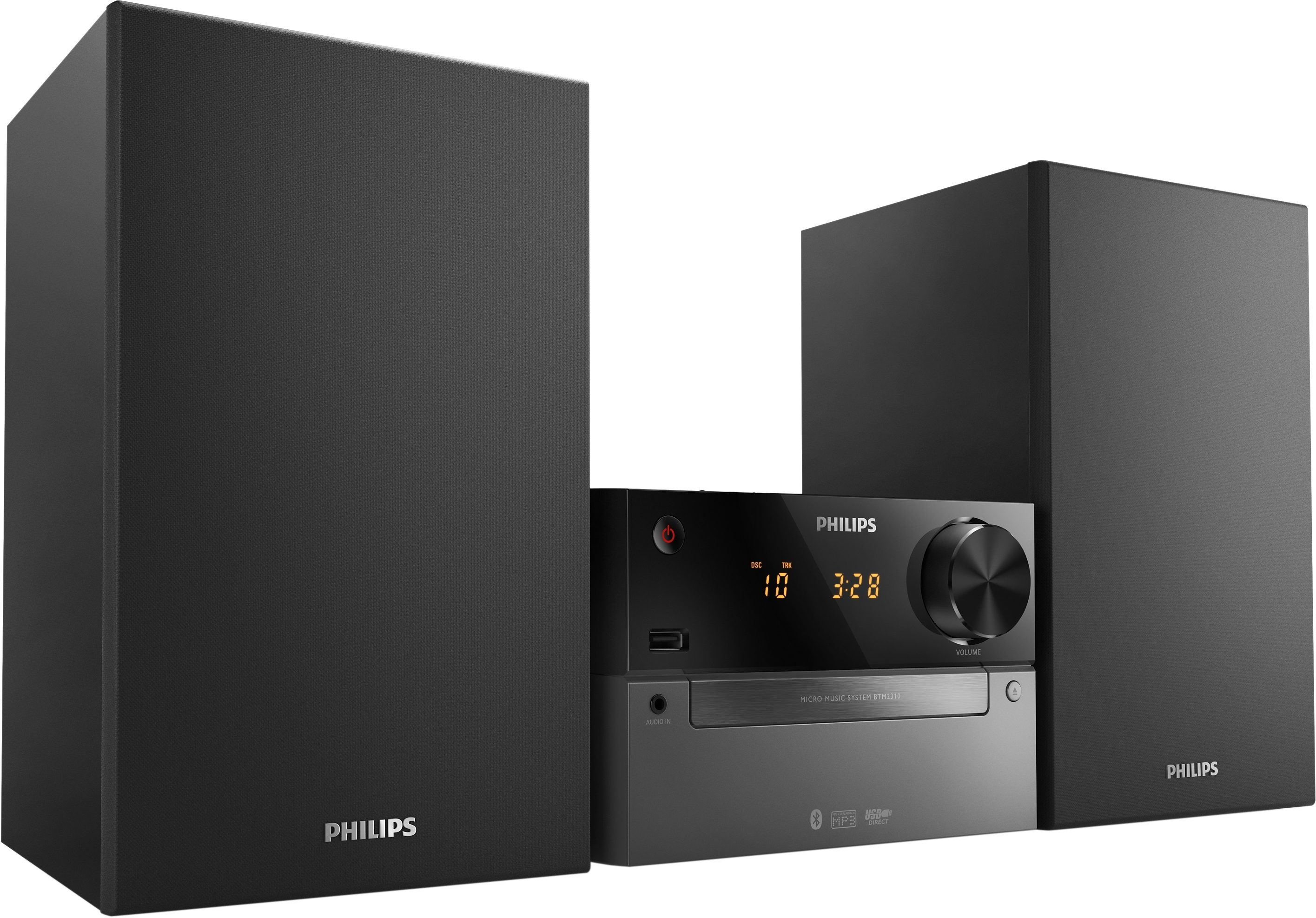 Philips MCB2305 Minianlage, Digitalradio (DAB+), RDS, 1x USB
