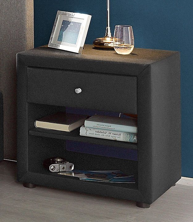 nachttisch atlantic home collection online kaufen otto. Black Bedroom Furniture Sets. Home Design Ideas