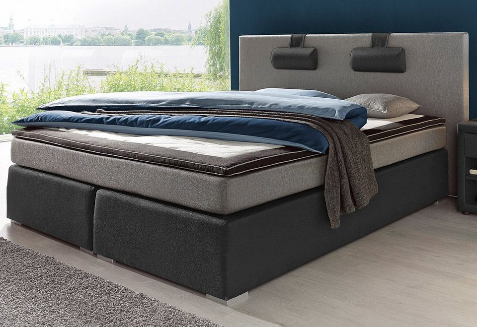 boxspringbett atlantic home collection kaufen otto. Black Bedroom Furniture Sets. Home Design Ideas
