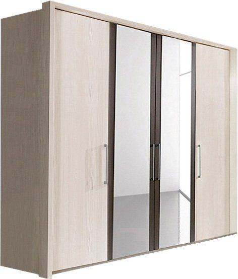 wiemann kleiderschrank lissabon mit spiegelt ren in 3 breiten online kaufen otto. Black Bedroom Furniture Sets. Home Design Ideas