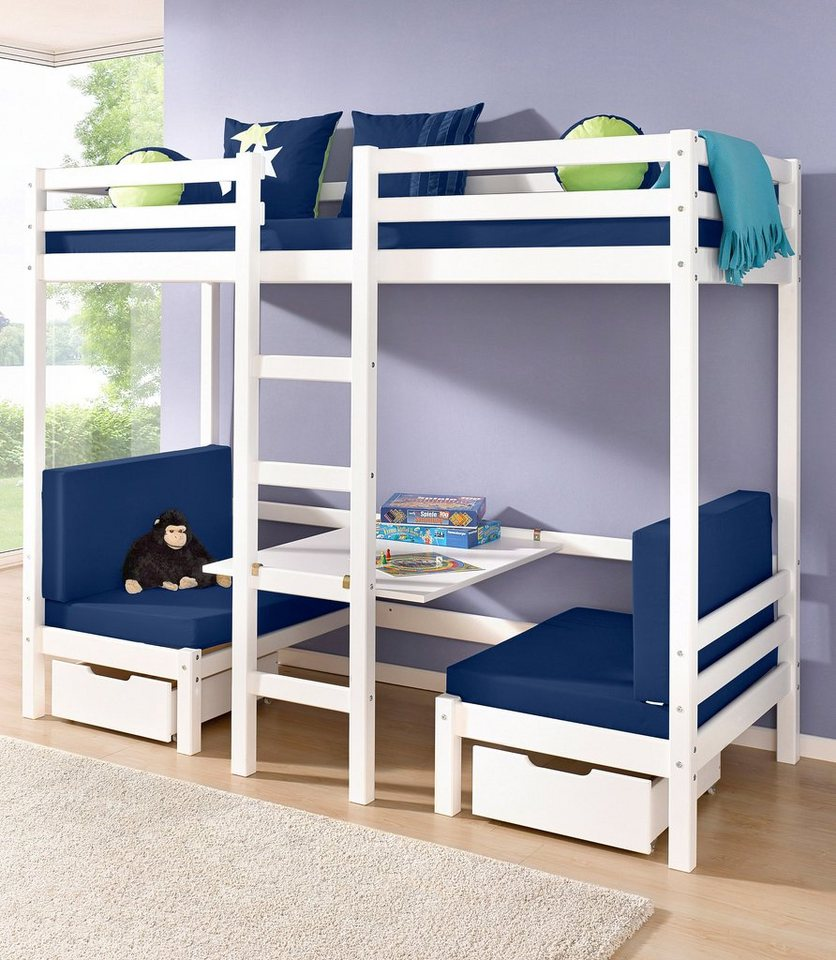 jumbo hochbett hoppekids myroom online kaufen otto. Black Bedroom Furniture Sets. Home Design Ideas