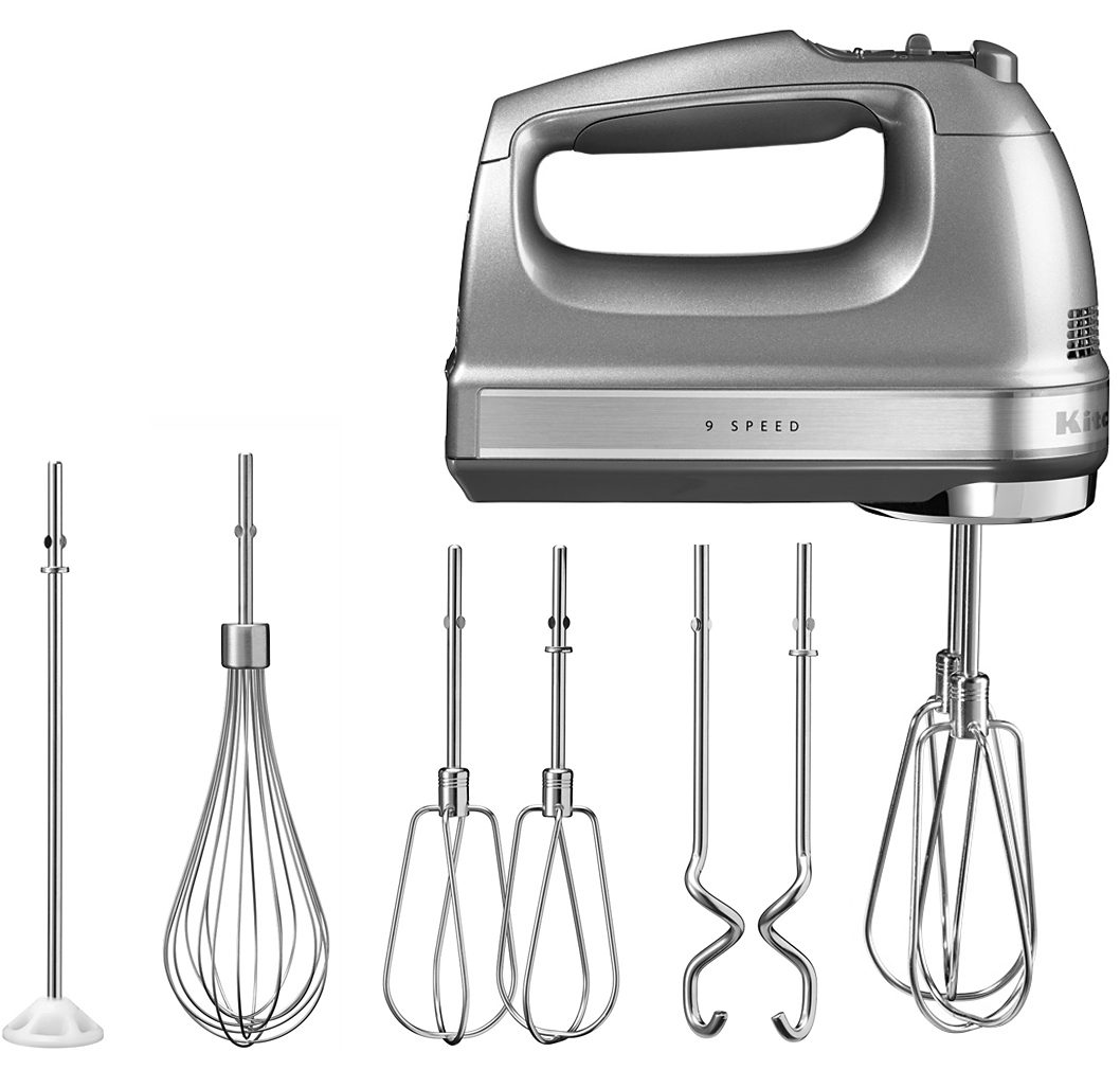 KitchenAid Handmixer 5KHM9212ECU, 85 W, 85 Watt, 9 Stufen