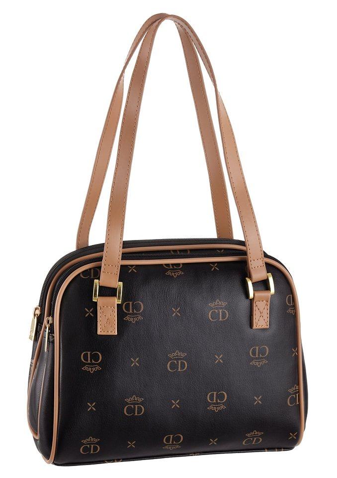 Handtasche, CD Noble Elegance in schwarz