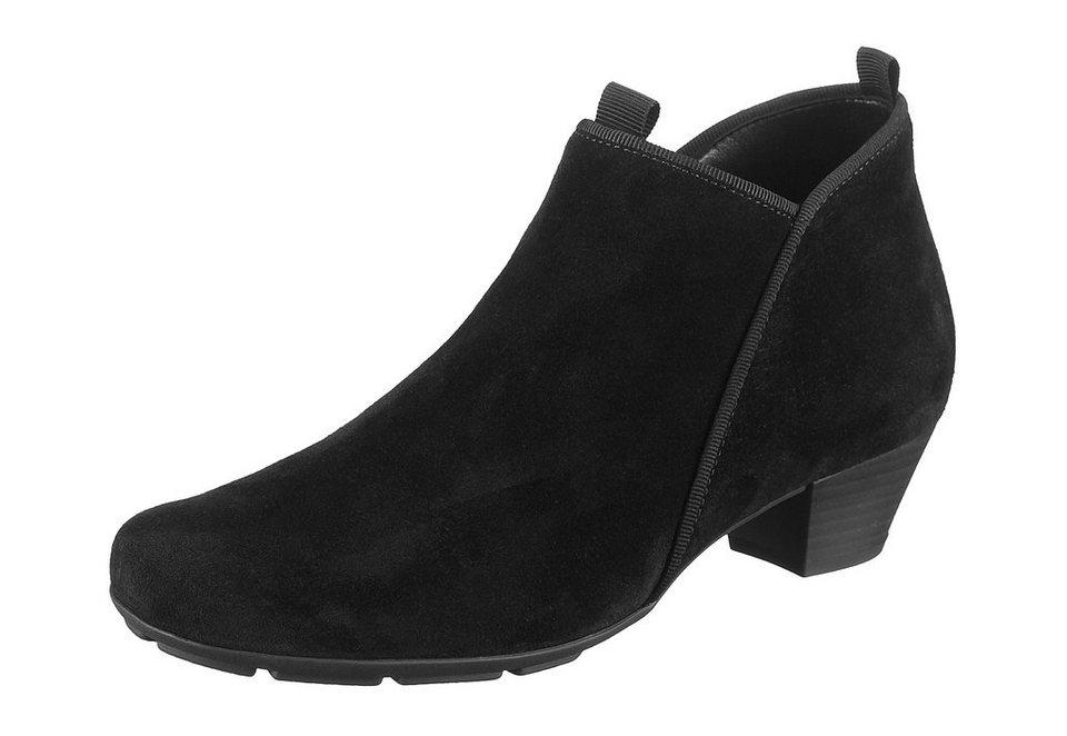Ankle-Boots, Gabor in schwarz