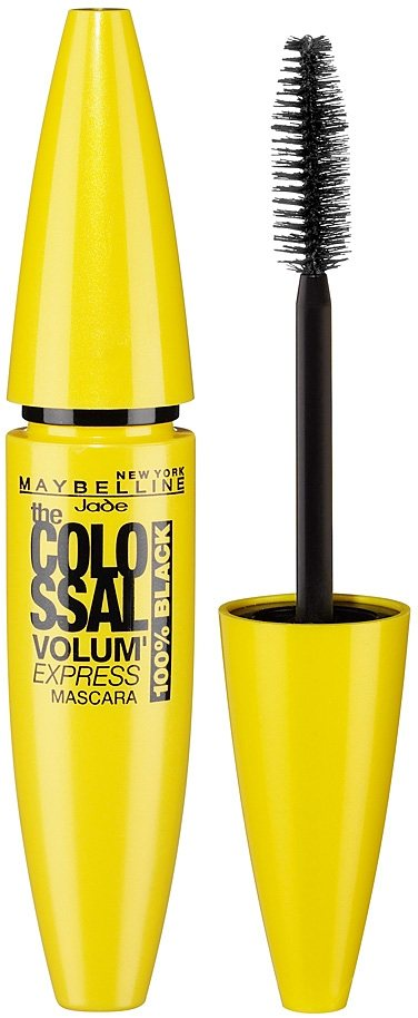 Maybelline New York, »Volum' Express The Colossal 100% Black«, Mascara in black