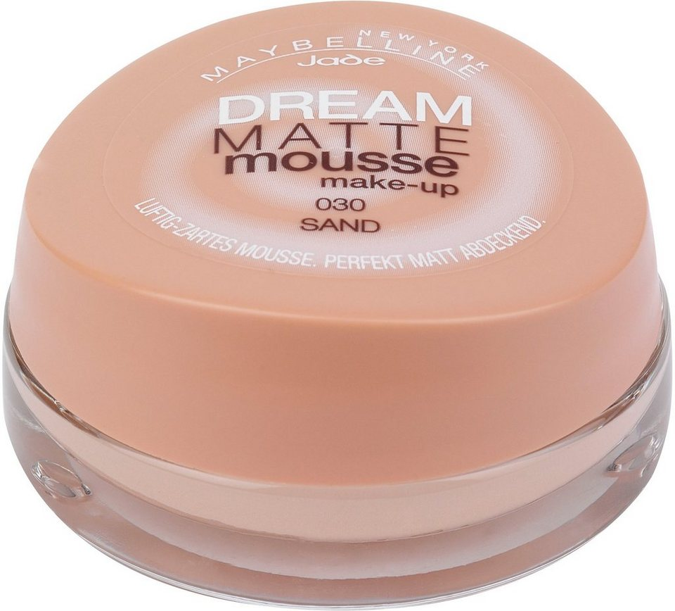 Maybelline New York, »Dream Matte Mousse Make-up«, Foundation in 30 sand