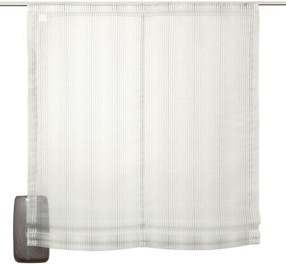 raffrollo sch ner wohnen light mit klettband otto. Black Bedroom Furniture Sets. Home Design Ideas