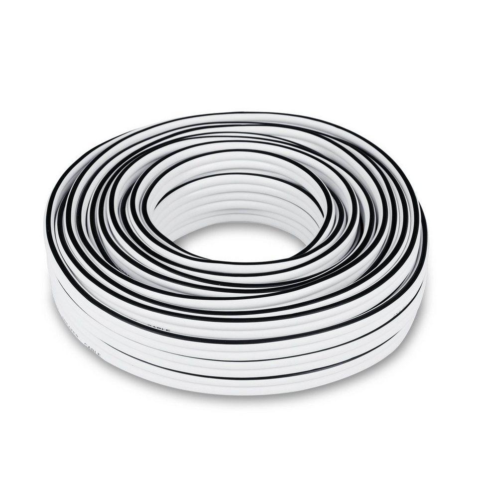 Teufel Lautsprecherkabel »Lautsprecherkabel 2 x 4 mm²« in weiss2
