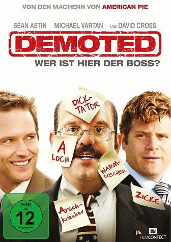 DVD »Demoted - Wer ist hier der Boss?«