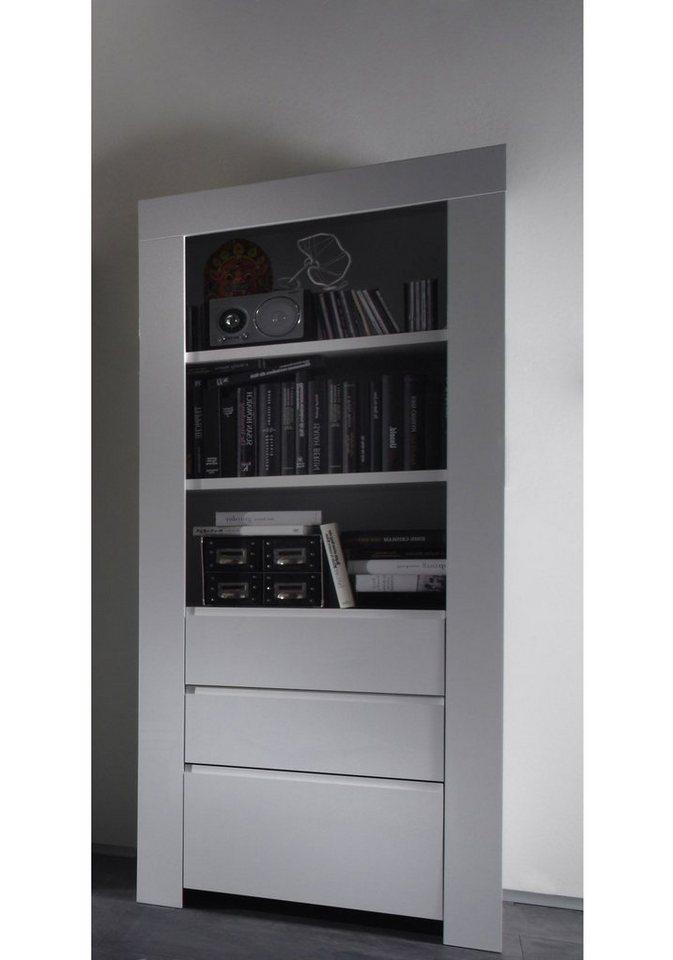 LC Hochschrank, 170 cm in weiß