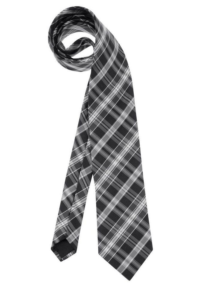 Studio Coletti Krawatte in schwarz-kariert